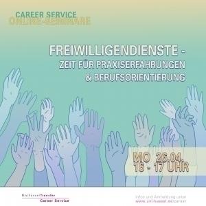 Career Service - Online Seminare